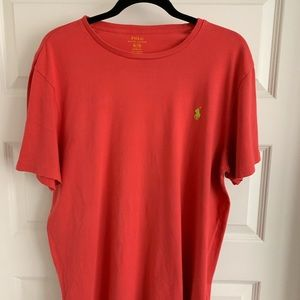 Ralph Lauren Polo Coral T Shirt Size XL Lime Green